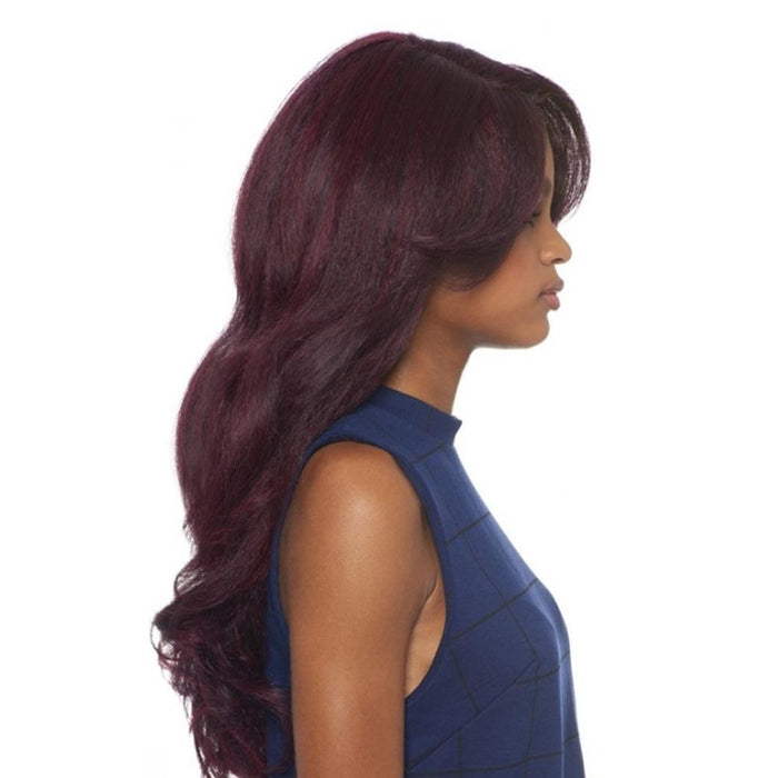 DOMINICAN BLOWOUT RELAXED | Synthetic Lace Front Wig.