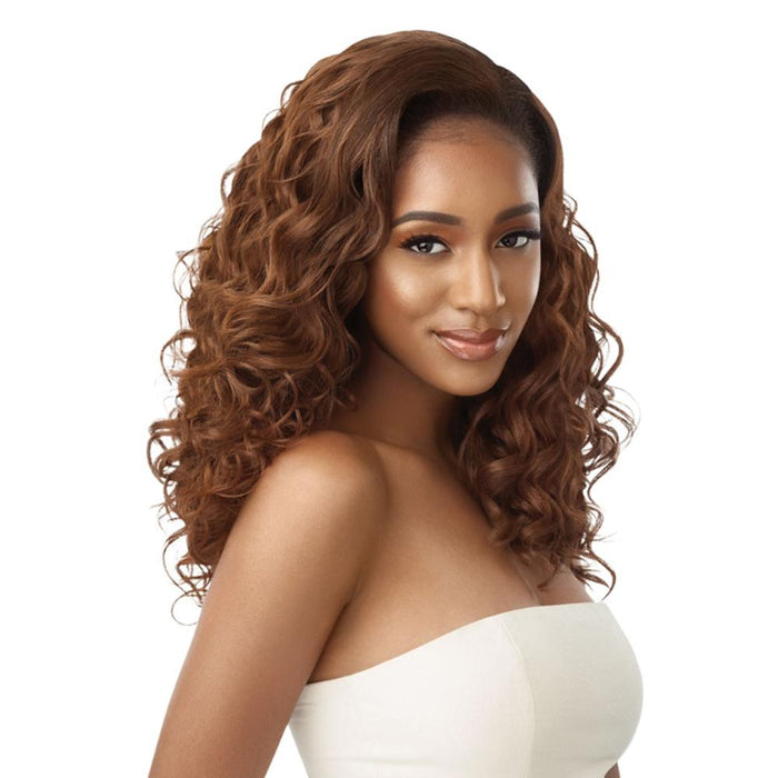 DONDRIA | Quick Weave Synthetic Half Wig - Hair to Beauty | Color Shown: 2T1/30