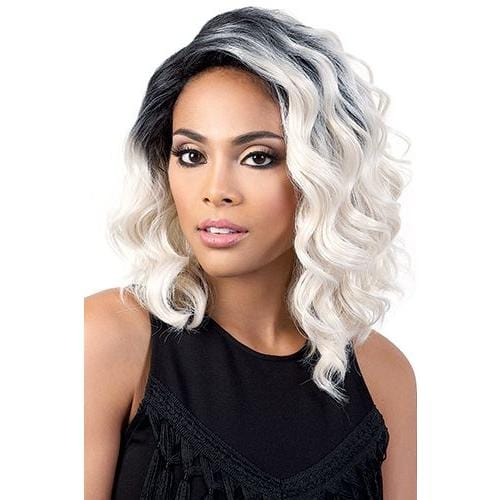 DP. ZOE | Synthetic Deep Lace Part Wig.