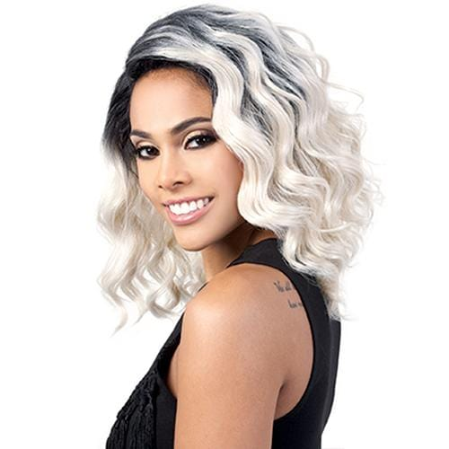 DP. ZOE | Motown Tress Synthetic Deep Lace Part Wig - Hair to Beauty | Color Shown: OTIVORY