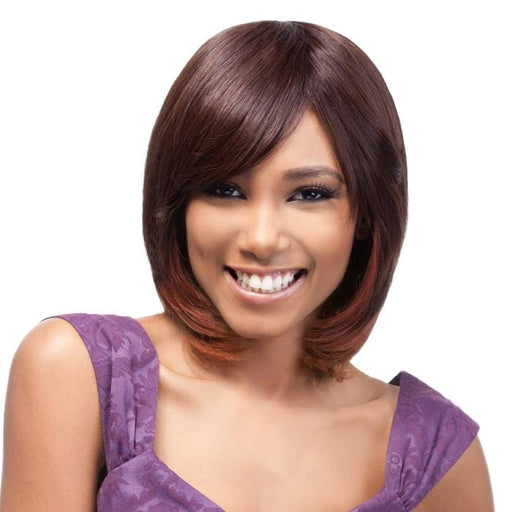 DUBY BANG | Outre Premium Duby Human Hair Wig - Hair to Beauty | Color Shown: U2/3033