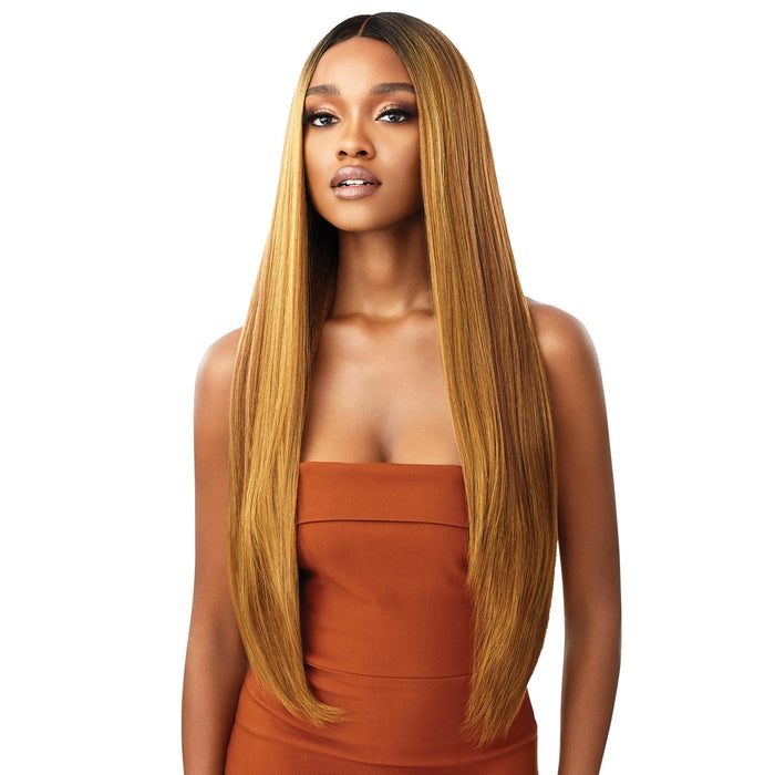 ELIANA - Outre Melted Hairline Synthetic HD Lace Front Wig - Hair To Beauty | Color Shown : DRFF Hazelnut