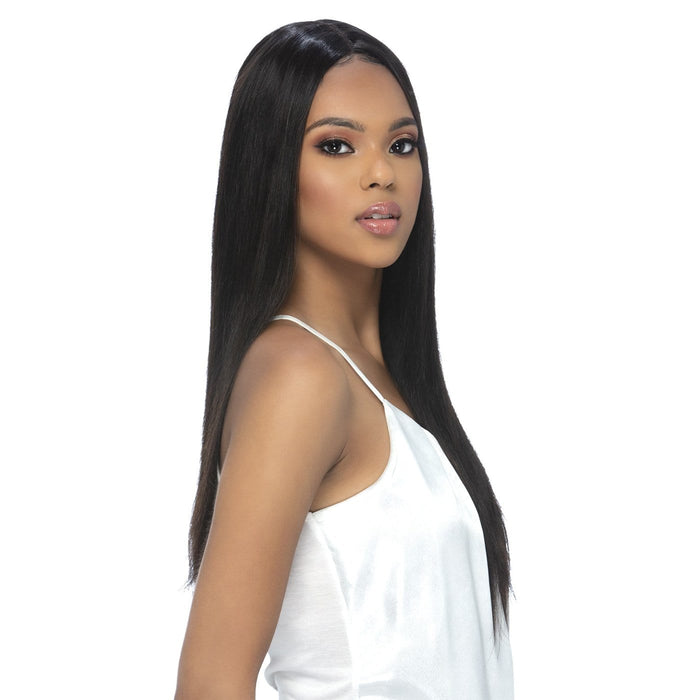 ELODIE | Brazilian Remi Invisible Part Lace Front Wig - Hair to Beauty | Color Shown: NATURAL
