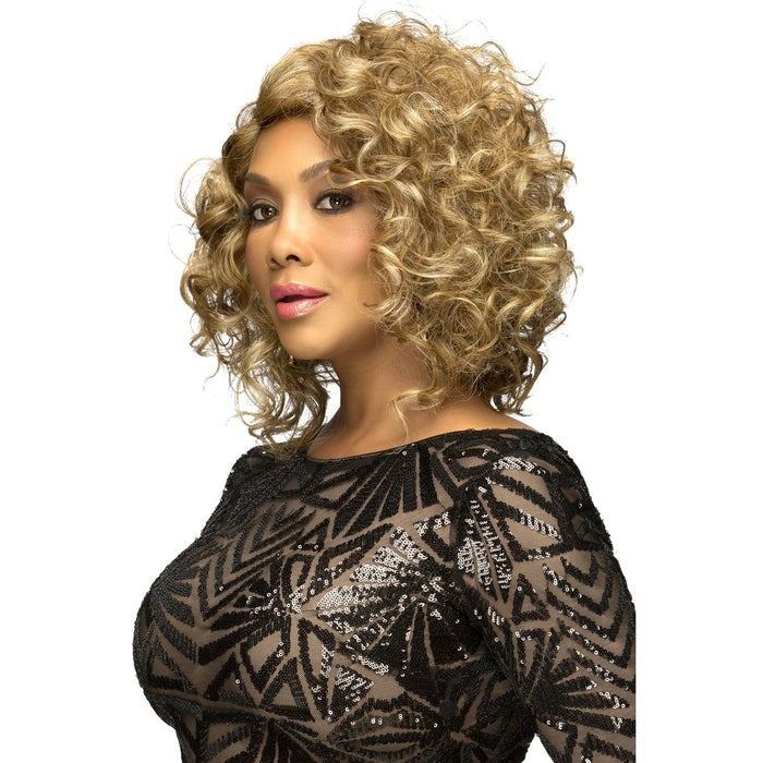 ELOISE | Vivica A. Fox Synthetic Pure Stretch Side Skin Part Wig - Hair to Beauty | Color Shown: P2216