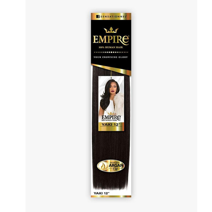 EMPIRE YAKI | Human Hair Weave - Hair to Beauty | Color Shown: 1B