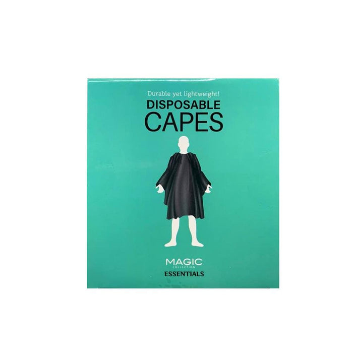 MAGIC | Disposable Capes 30 Capes/Box - Black - Hair to Beauty