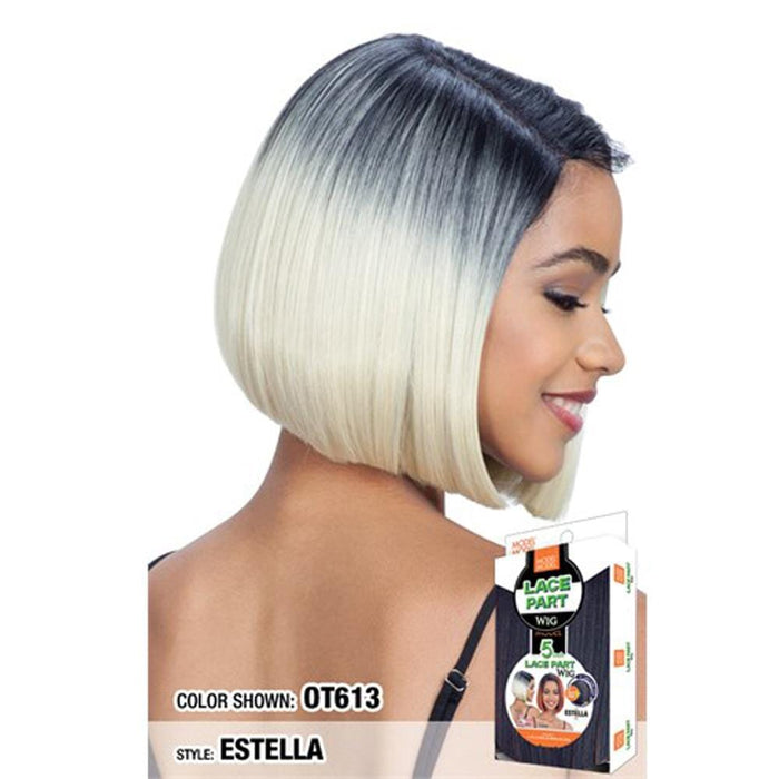 ESTELLA | Synthetic 5 Inch Lace Part Wig.