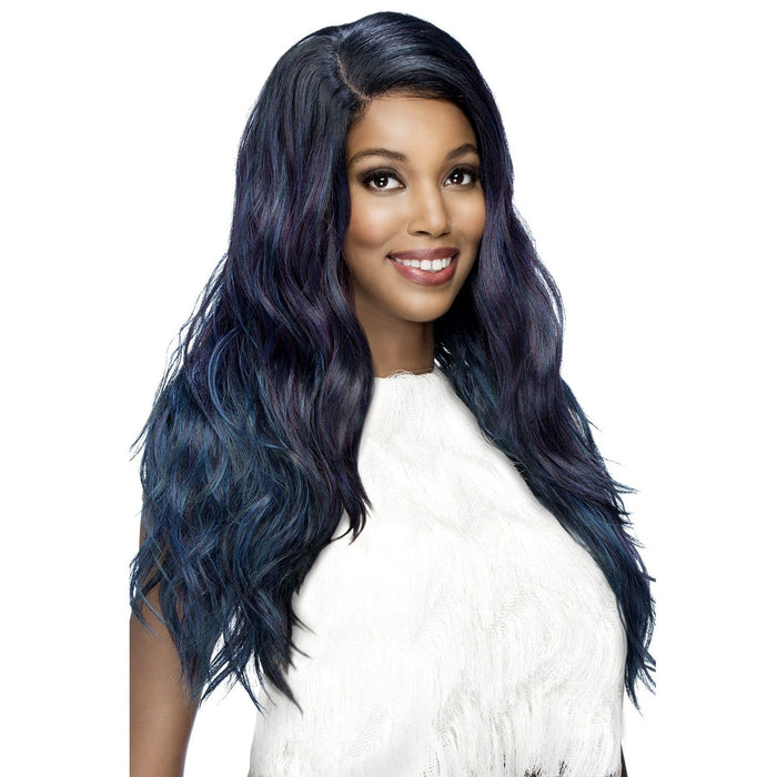 EUNICE | Vivica A. Fox Synthetic 6x4 Jumbo Swiss Lace Front Wig - Hair to Beauty | Color Shown: STT1B/OIL