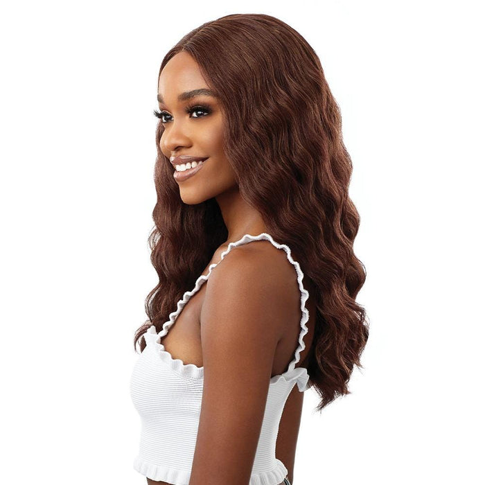 EVERY 7 - Outre EveryWear Synthetic HD Lace Front Wig - Hair To Beauty | Color Shown : Chocolate