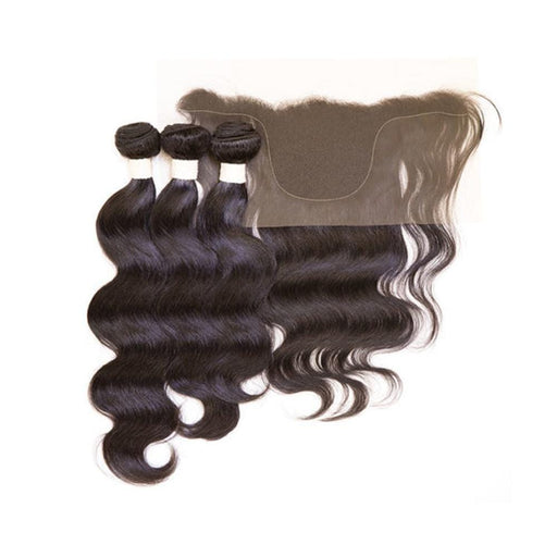 "EZ DIY BODY 10""12""14""+13X4 TEMPLE 