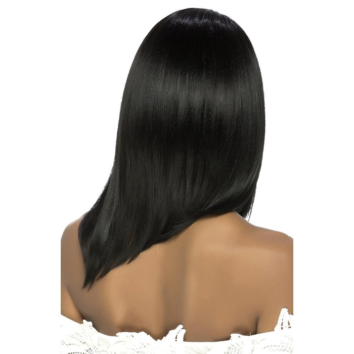 FAME | Vivica A. Fox Synthetic Pure Stretch Cap Wig - Hair to Beauty | Color Shown: 1B