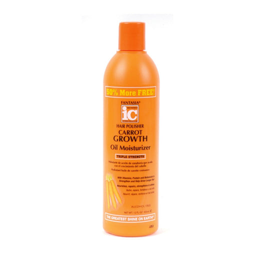 FANTASIA IC |CARROT GROWTH OIL LOTION (12OZ) - Hair to Beauty