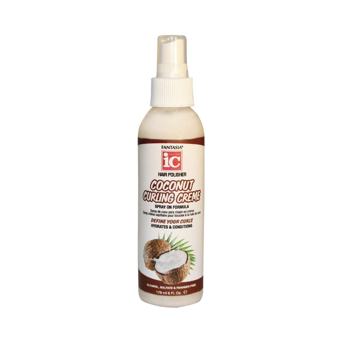 FANTASIA IC | Coconut Curling Creme Spray 6oz.