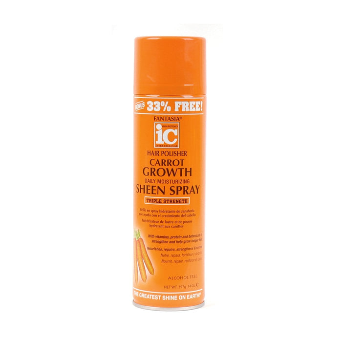 FANTASIA IC | Carrot Growth Daily Moisturizing Sheen Spray 14oz.