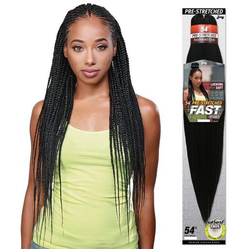 FAST BRAID | Feather Ends Pre-Stretched Synthetic Braid.