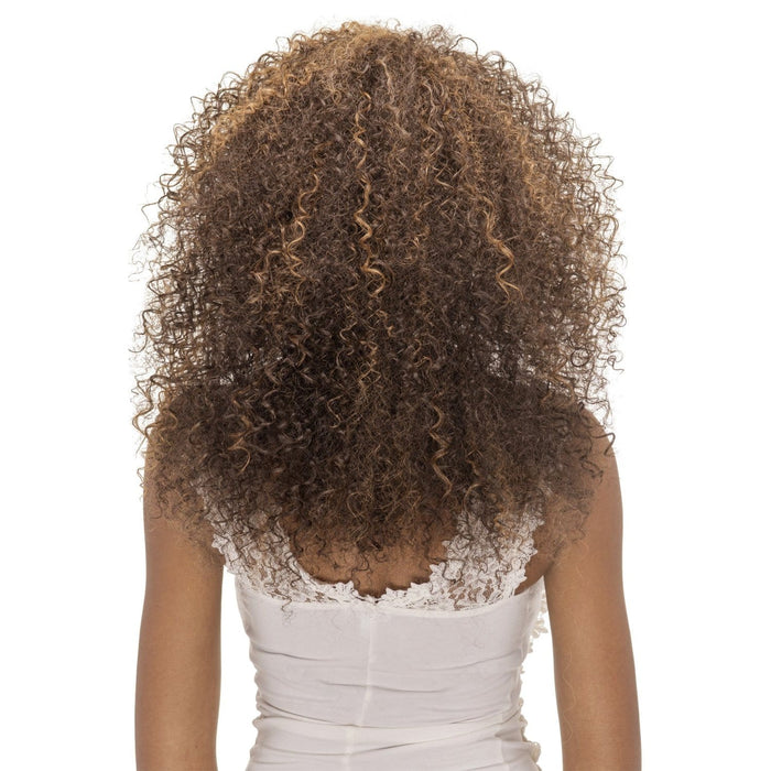 FHW-SOPHIA | Vivica A. Fox Synthetic Express Half Wig - Hair to Beauty | Color Shown: FS4/27