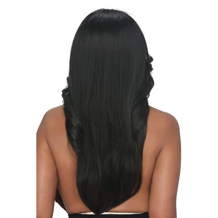 FHW-TRINITY | Vivica A. Fox Synthetic Express Half Wig - Hair to Beauty | Color Shown: 1B