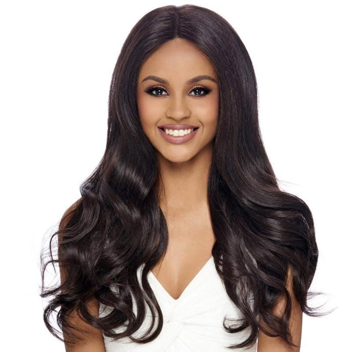 FLS91 | Harlem125 Synthetic Swiss Whole Lace Wig - Hair to Beauty | Harlem125 Color Shown : 4