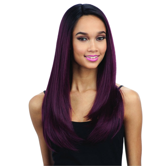 FREE PART LACE 201 l FreeTress Synthetic Freedom Part Lace Front Wig - Hair to Beauty l Color Shown: OT530