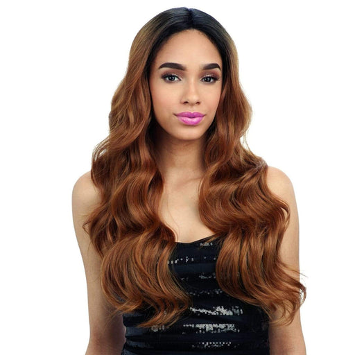 FREE PART LACE 202 l FreeTress Synthetic Freedom Part Lace Front Wig - Hair to Beauty l Color Shown: OT30