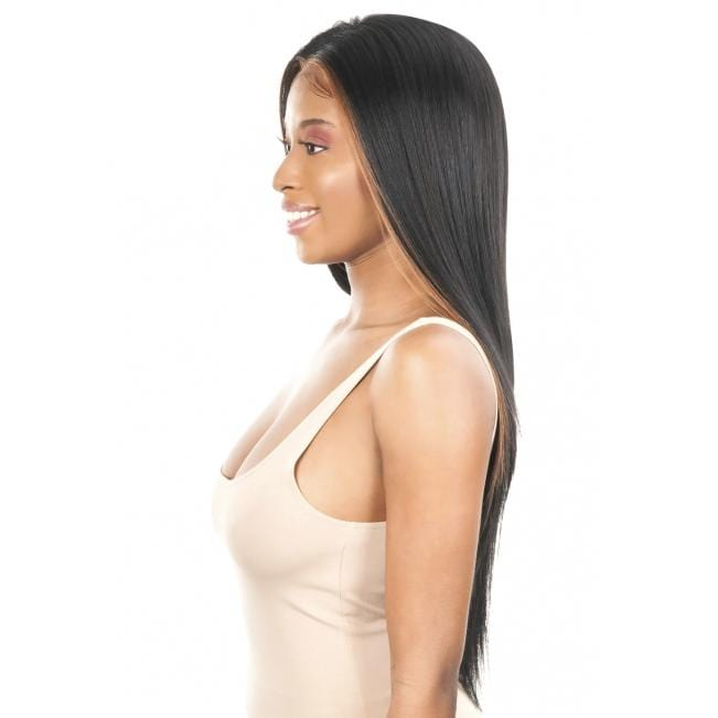 FS134S - Chade Fake Scalp 13X4 Synthetic Lace Front Wig - Hair to Beauty | Color Shown : FF1B/30