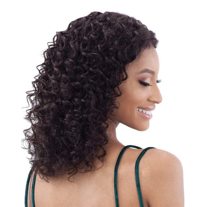 GF-D14 | Shake-N-Go Girl Friend Virgin Human Hair Lace Front Wig - Hair to Beauty | Color Shown: NATURAL
