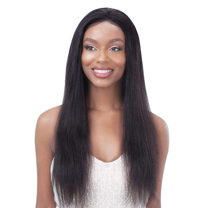 GF-S26 | Shake-N-Go Girl Friend Virgin Human Hair Lace Front Wig.