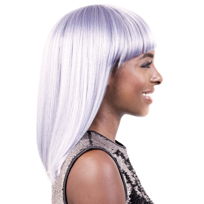 GGC-IMA | Motown Tress Go Girl Curlable Synthetic Wig - Hair to Beauty | Color Shown: LILAC