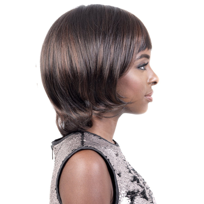 GGC-JANE | Motown Tress Go Girl Curlable Synthetic Wig - Hair to Beauty | Color Shown: F1B/30