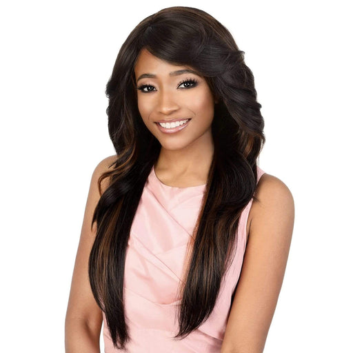 GGC-SHANA | Motown Tress Go Girl Curlable Synthetic Wig - Hair to Beauty | Color Shown : F1B/30
