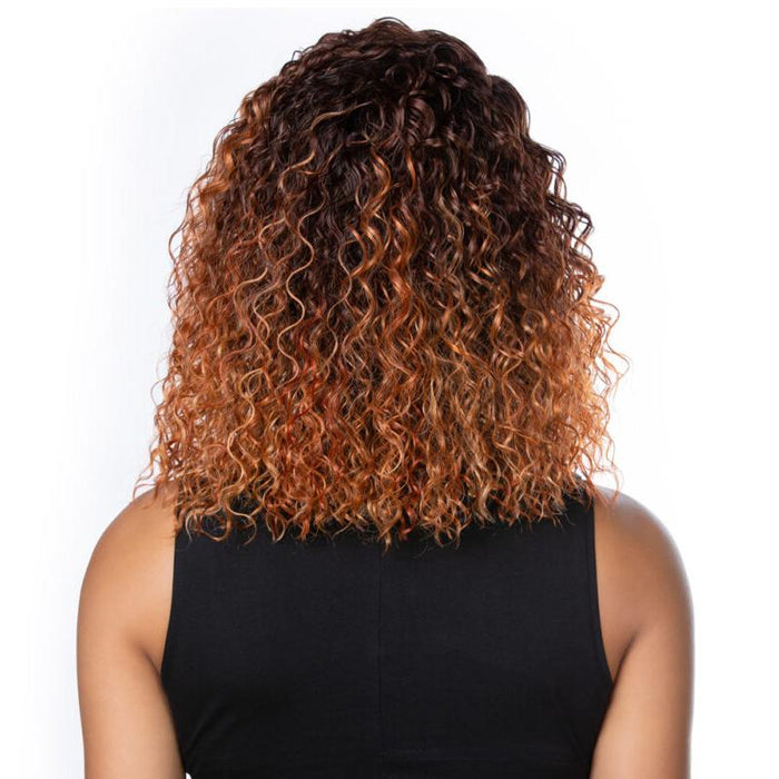 GL208 - Harlem125 Gogo Ultra HD Synthetic Lace Wig - Hair To Beauty | Color Shown : 3TO4356