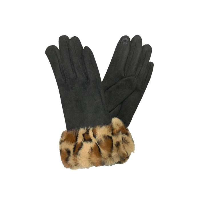 BE U | Animal Print Winter Glove.