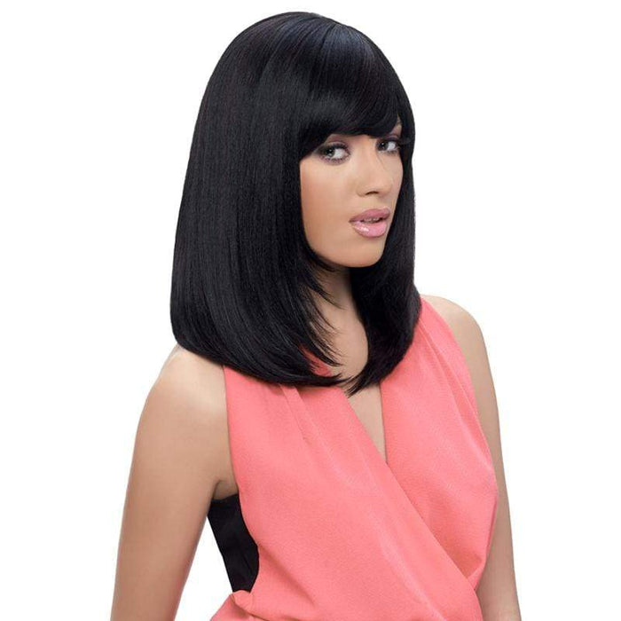 GO105 | Harlem125 Gogo Collection Synthetic Wig - Hair to Beauty | Harlem125 Color Shown : F1B/30