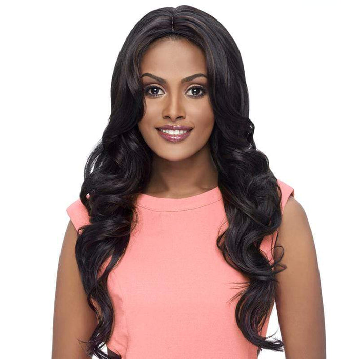 GO107 | Harlem125 Gogo Collection Synthetic Wig - Hair to Beauty | Harlem125 Color Shown : F1B/30