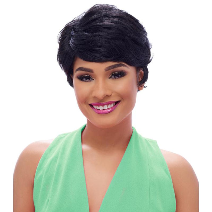 GO108 | Harlem125 Gogo Collection Synthetic Wig - Hair to Beauty | Harlem125 Color Shown : 1B