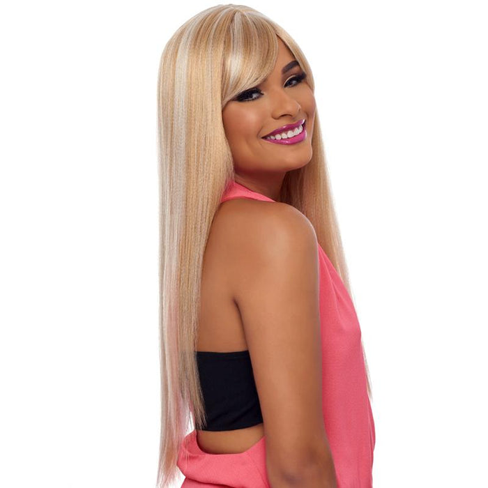 GO111 | Harlem125 Gogo Collection Synthetic Wig - Hair to Beauty | Harlem125 Color Shown : FS24/613