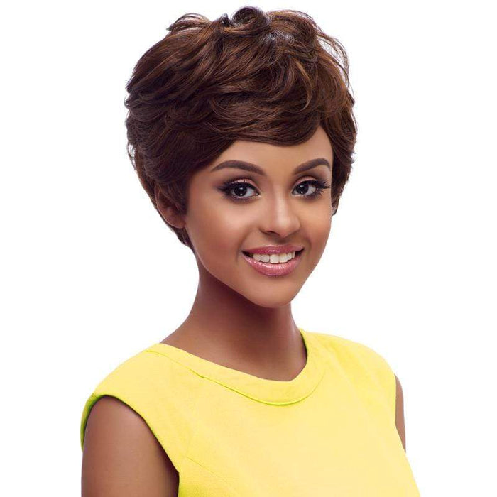 GO112 | Harlem125 Gogo Collection Synthetic Wig - Hair to Beauty | Harlem125 Color Shown : F4/30