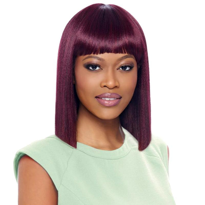 GO114 | Gogo Collection Synthetic Wig - Hair to Beauty | Color Shown : 99J