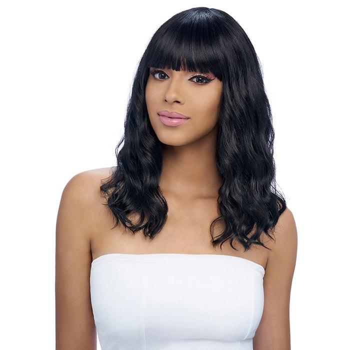 GO118 | Gogo Collection Synthetic Wig - Hair to Beauty | Color Shown: 1B