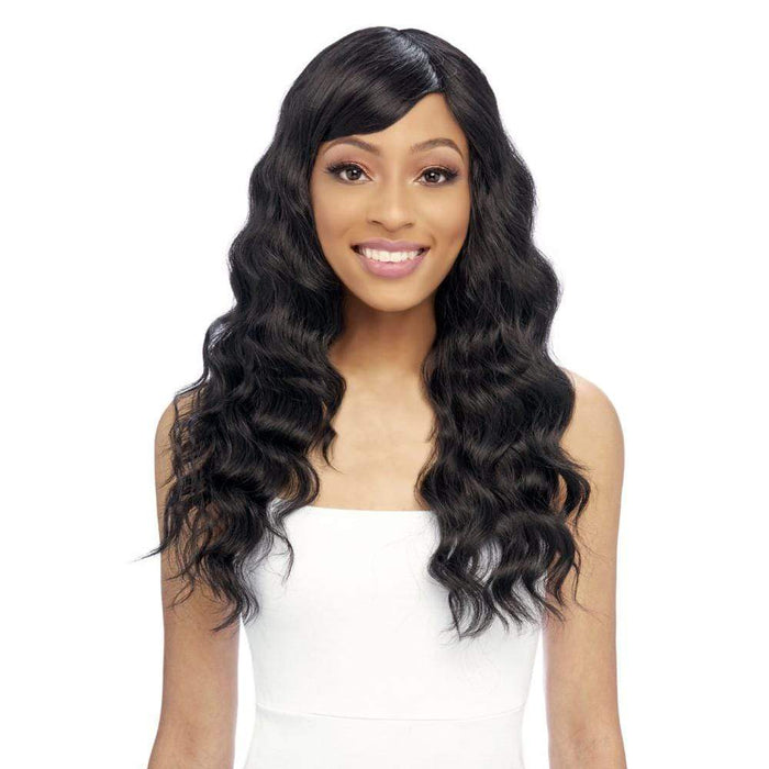 GO119 | Gogo Collection Synthetic Wig - Hair to Beauty | Color Shown: 1B
