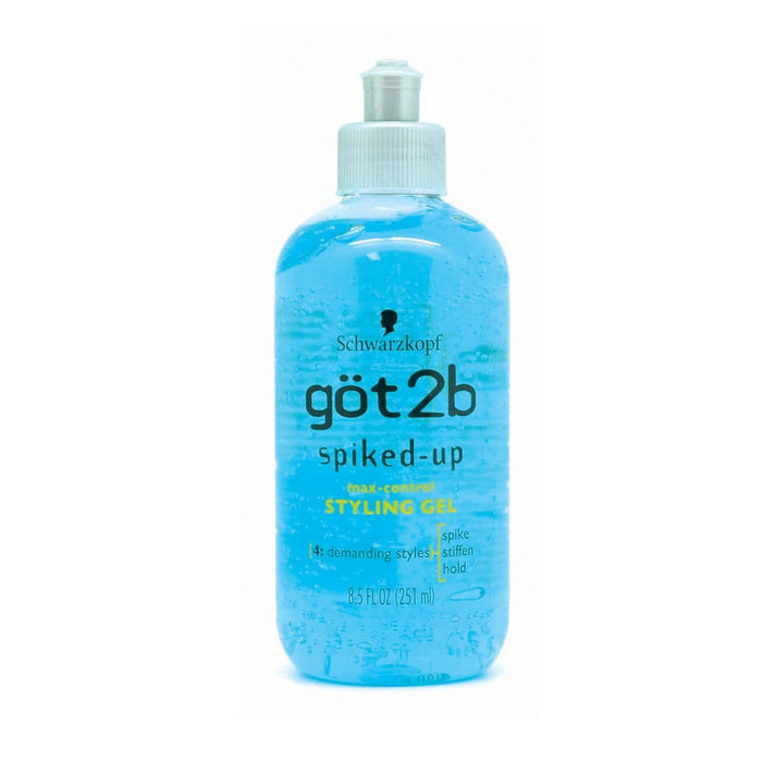 SCHWARZKOPT GOT2B | SPIKED-UP STYLING GEL (8.5OZ) [MAX-CONTROL] - Hair to Beauty