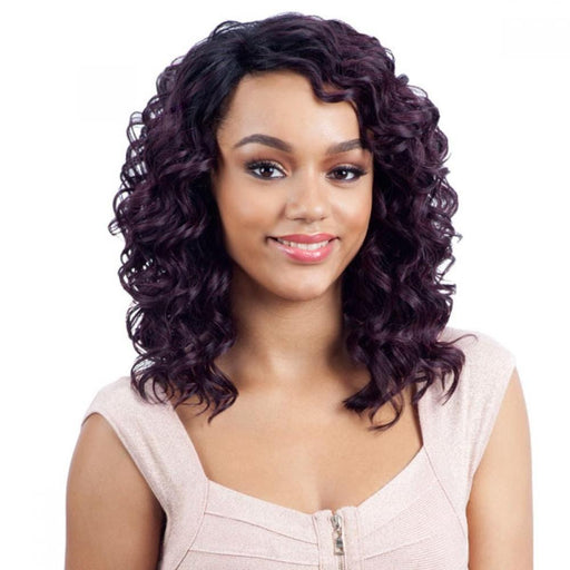 GREENCAP LACE GLADY l FreeTress Synthetic Lace Front Wig - Hair to Beauty l Color Shown: OP99J