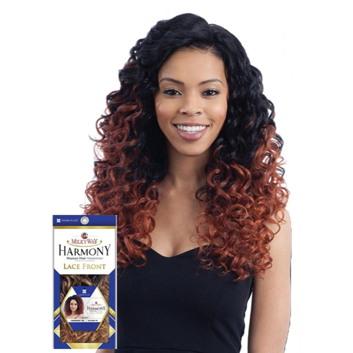 HARMONY 112 | Harmony Mastermix Human Hair Blend Lace Front Wig.