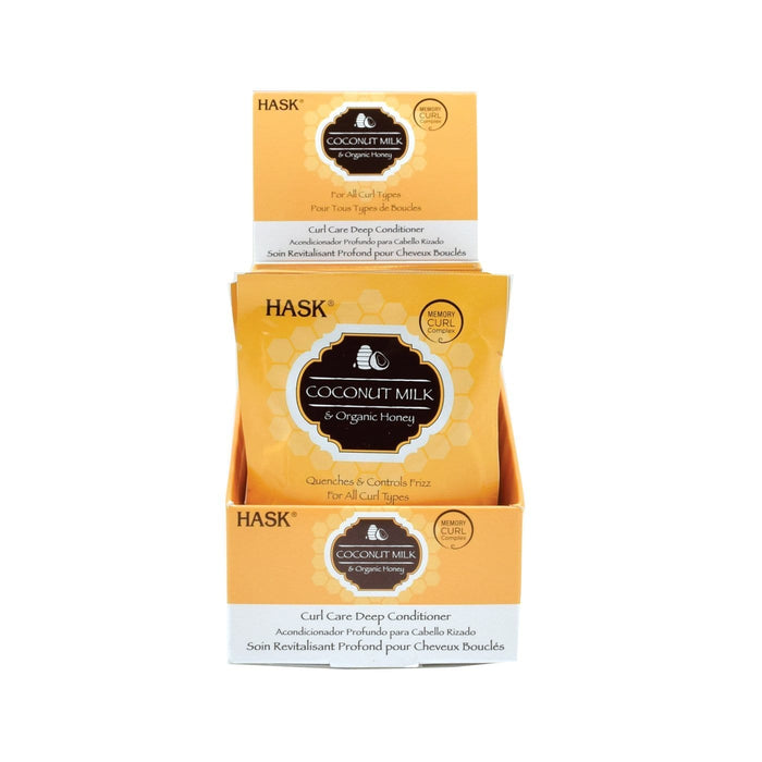 HASK | Coconut Milk & Honey Deep Conditioner 1.75oz.