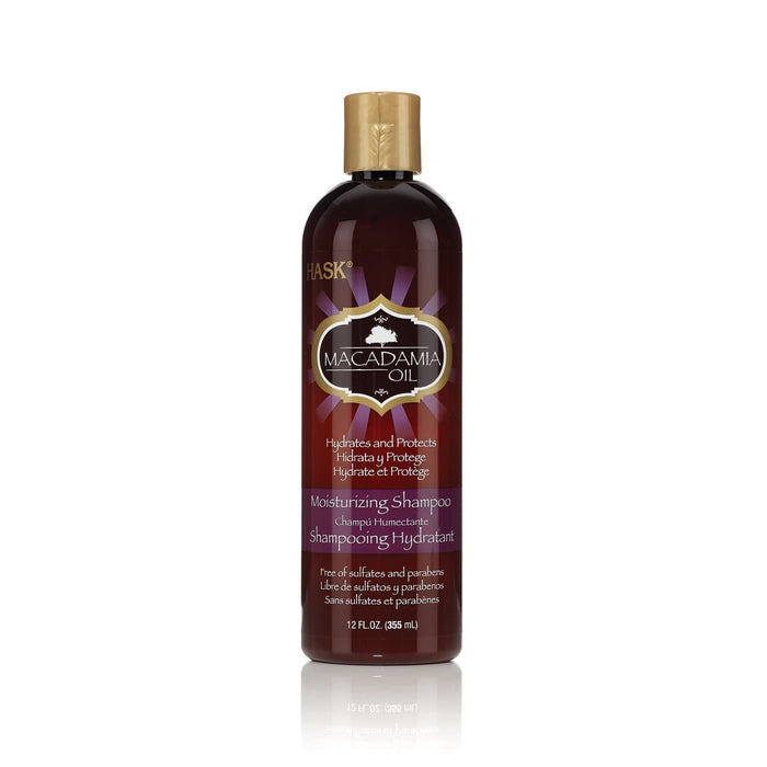 HASK | MACADAMIA OIL SHAMPOO (12OZ) [MOISTURIZING] - Hair to Beauty