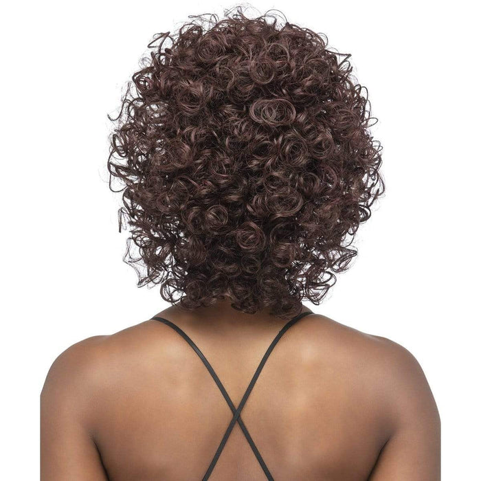 HB-SIA - Vivica A. Fox Express Synthetic Wig - Hair To Beauty | Color Shown : 99J