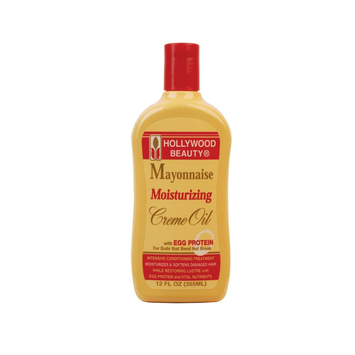HOLLYWOOD BEAUTY | Mayonnaise Moisturizing Cream Oil 12oz.