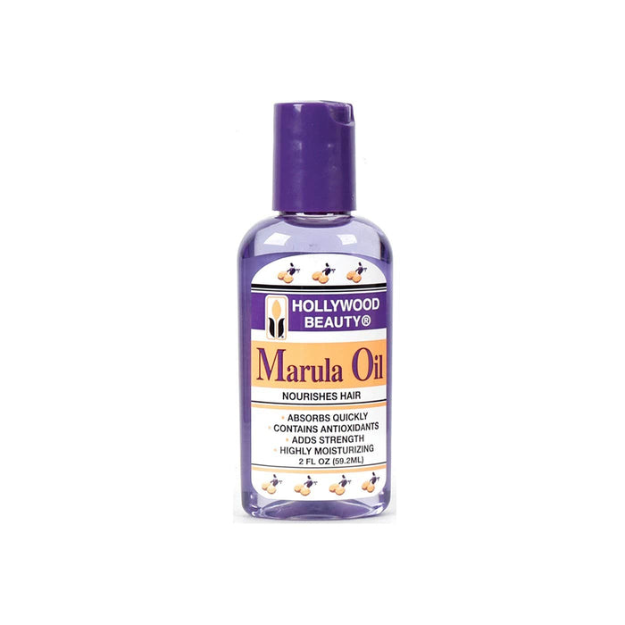HOLLYWOOD BEAUTY | Marula Oil Nourishes Hair 2oz.
