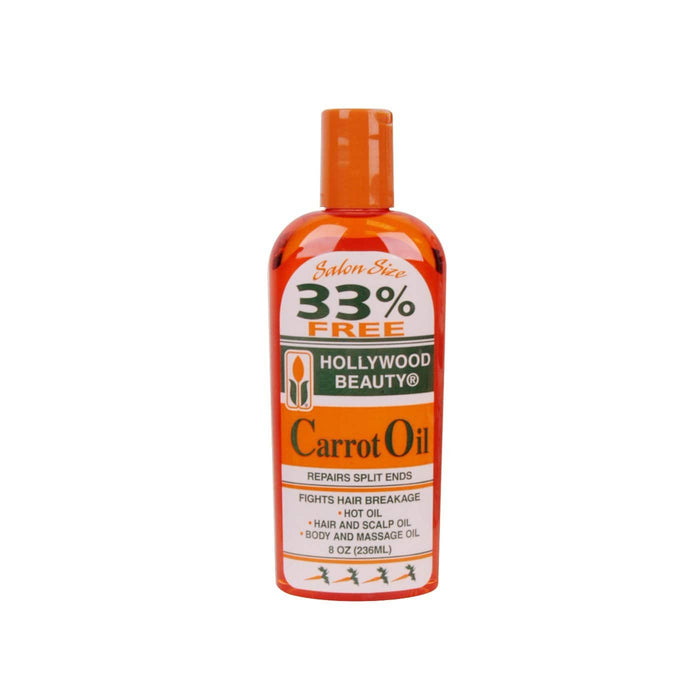 HOLLYWOOD BEAUTY | Carrot Oil Repairs Split Ends 8oz.