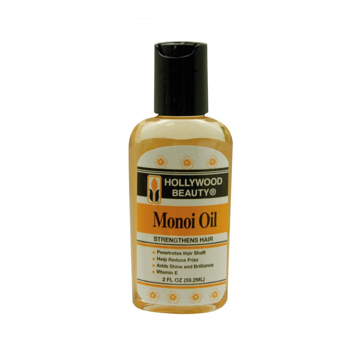 HOLLYWOOD BEAUTY | Monoi Oil Strengthens Hair 2oz.